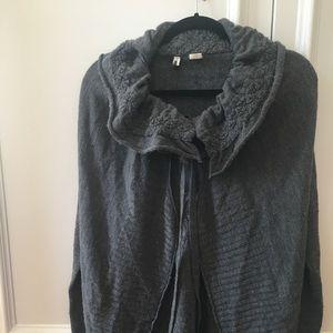 Moth Small cozy wool wrap sweater